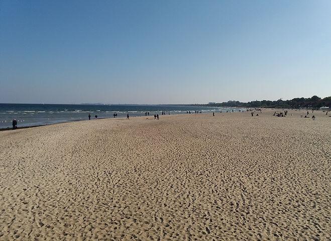Пляж Сопота