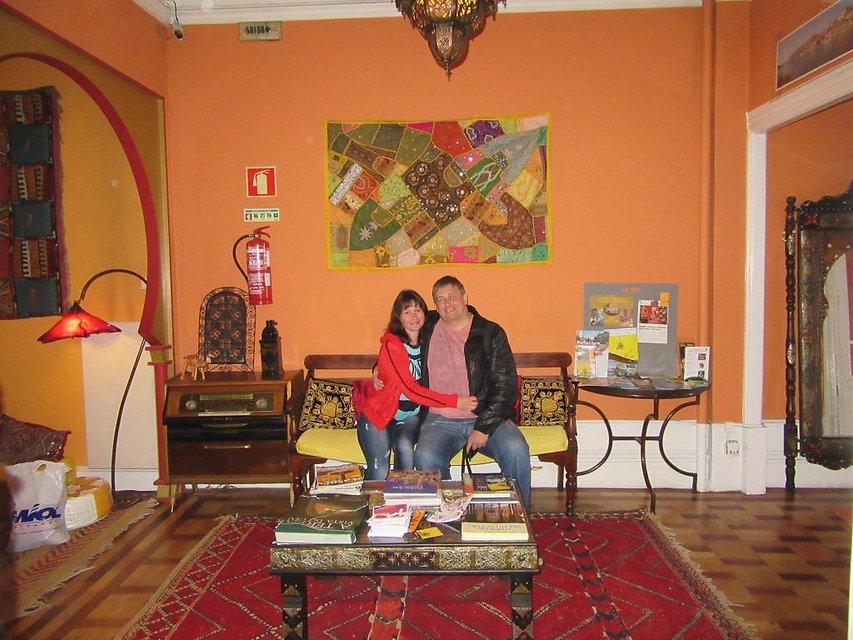 Утром в отеле города Порту