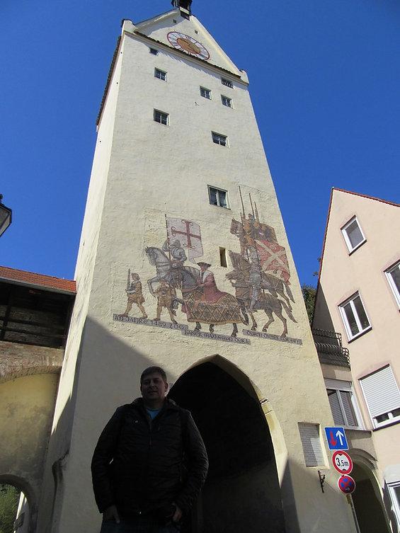 Знаменитые ворота Меммингена