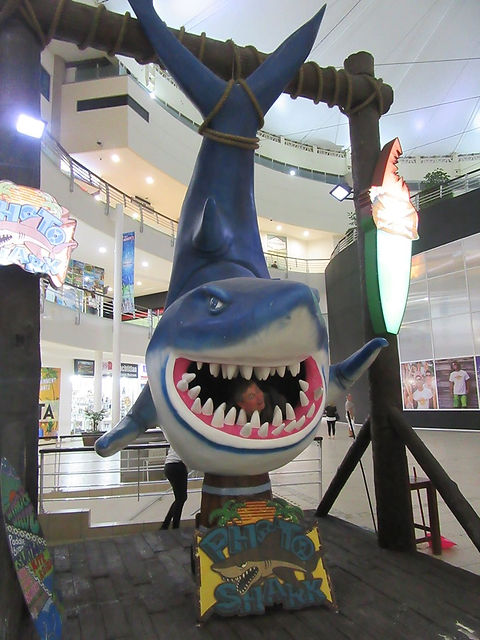 В пасти у акулы
