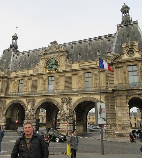 Входные ворота Лувра