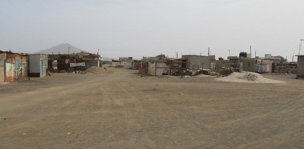 Кварталы бедняков в Эшпаргуше