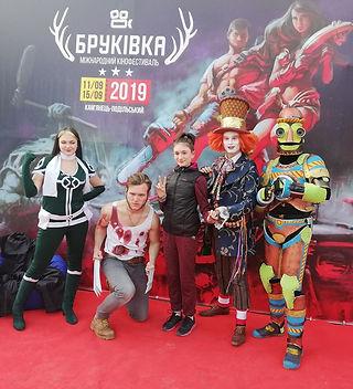 Чемпионы косплея