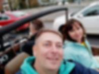 Катаемся на кабриолете по Праге