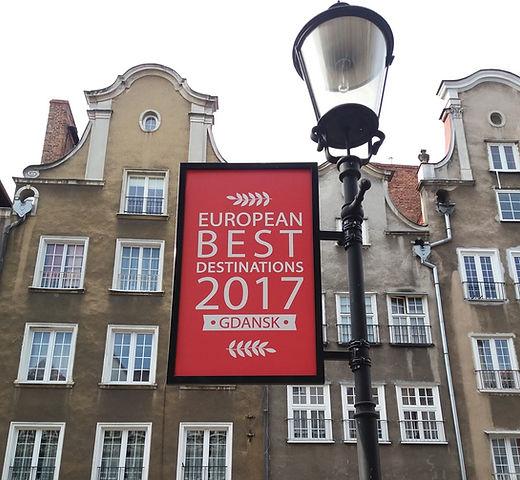 Гданьск, лучшее направление Европы 2017