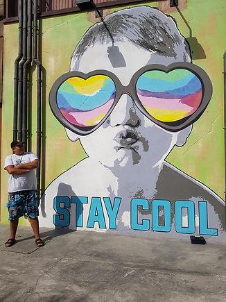 Stay cool на пляже Ла Мер