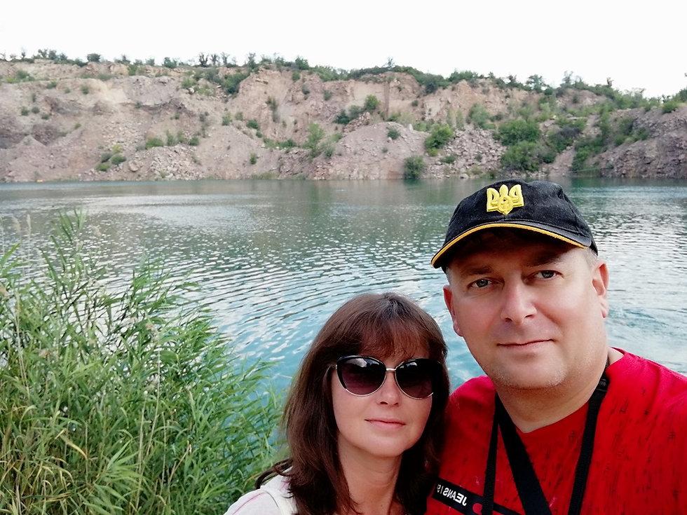 Радоновое озеро, селфи