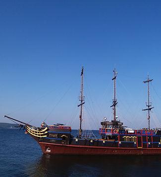 Пиратская шхуна в Сопоте