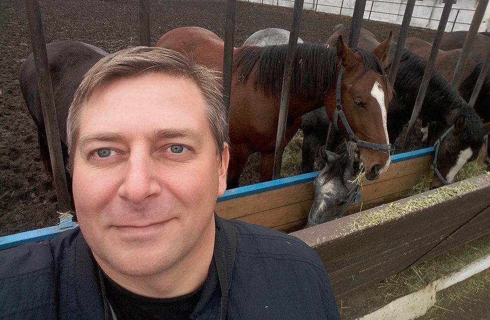 Селфи с лошадками