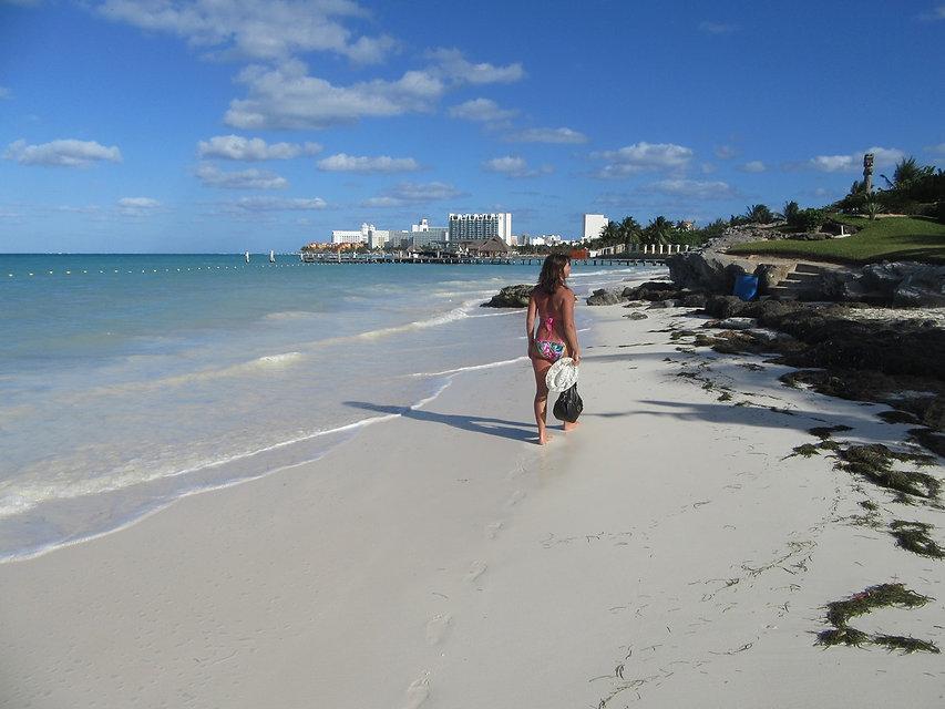 Гуляем по пляжам Канкуна