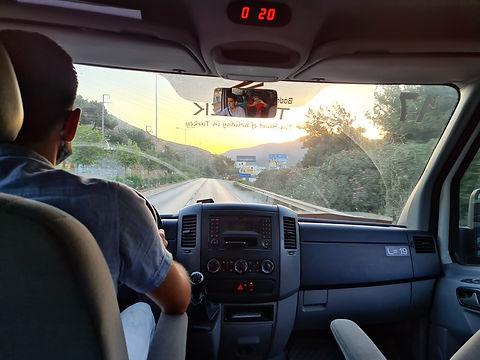 Дорога к Памуккале