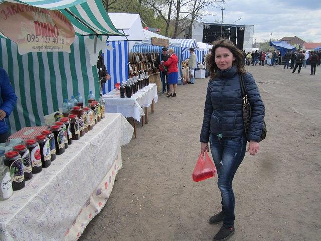 Фестиваль вина в селе Среднее