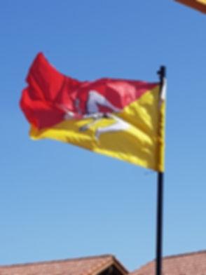 Флаг Сицилии, тринакрия