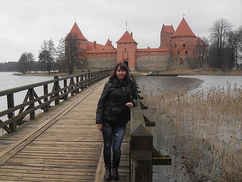 Мост ведущий к Тракайскому замку