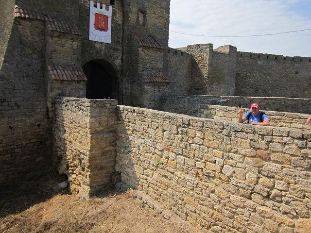 Входной мост в крепость