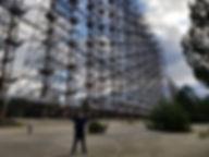"""Радиолокационная станция """"Дуга"""" в Чернобыльской зоне"""