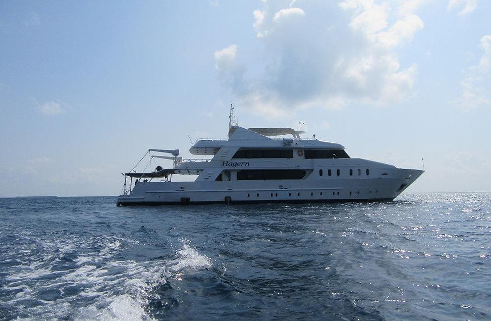 Яхта Hagern