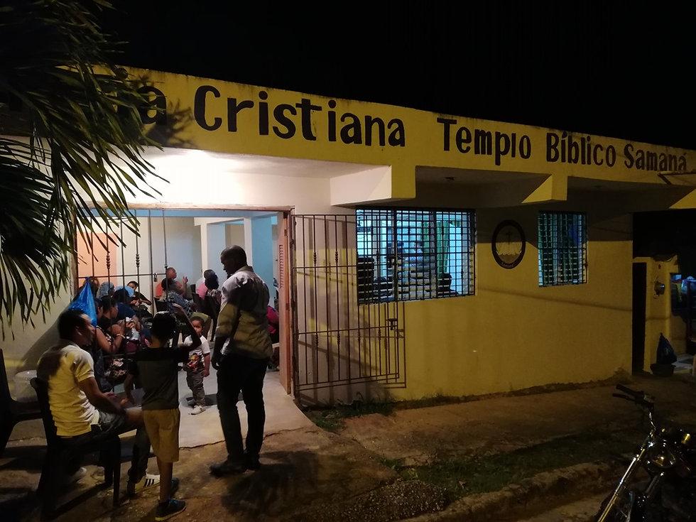 Протестантская церковь в Санта Барбара де Самана