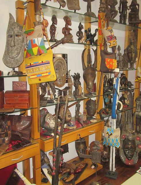 Сувенирный магазин в Кабо-Верде