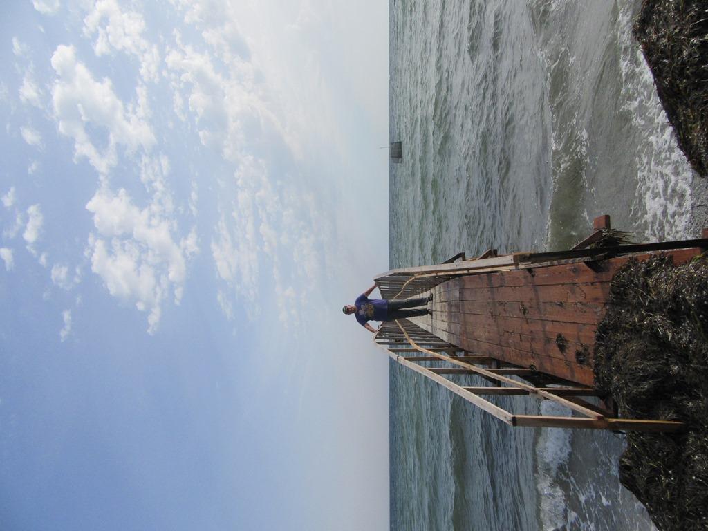 Дорога в море
