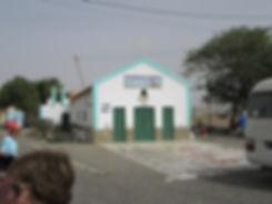 Церковь на причале порта в Палмейре
