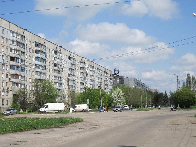 Ленин на крыше