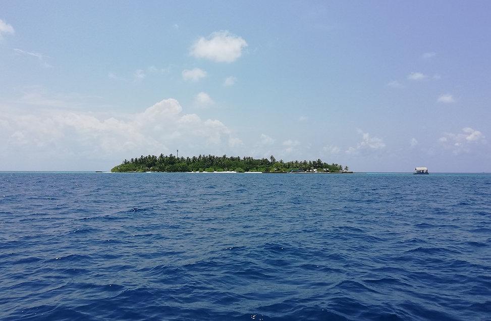 Остров на Мальдивах