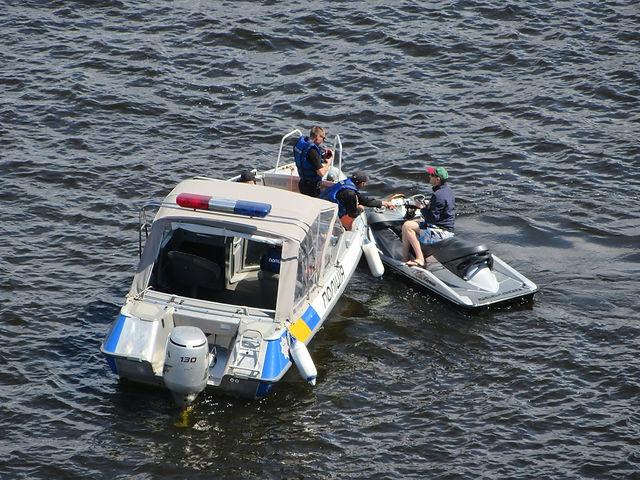 Водная полиция на Днепре