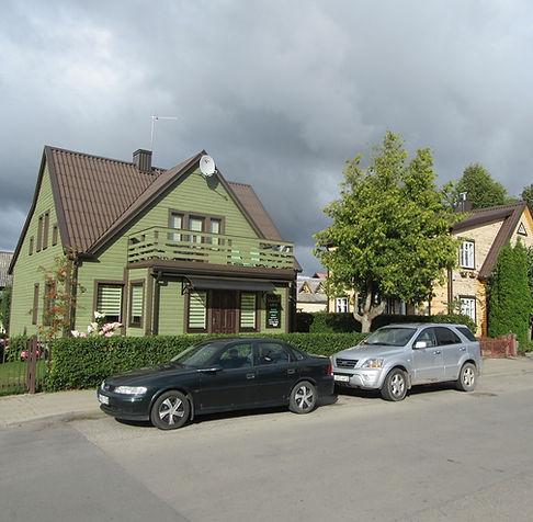 Типичный дом в Паланге