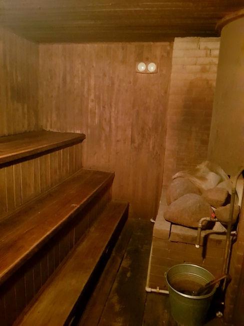 Парилка в бане Экополиса
