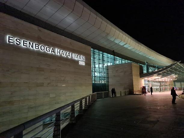 Аэропорт турецкой столицы