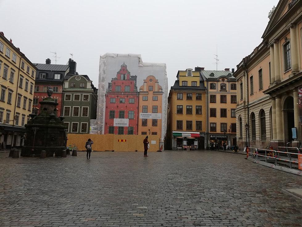Знаменитые домики Стокгольма