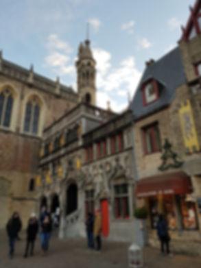 Базилика Крови Христовой в Брюгге