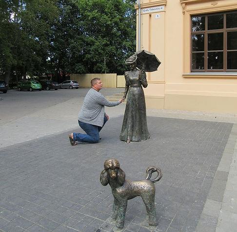 Дама с собачкой очень прекрасна