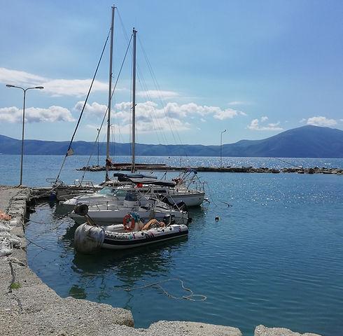Албания, причал яхт
