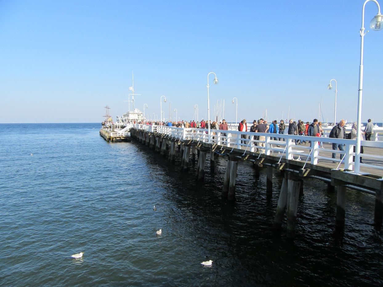 Самый длинный пирс в Европе