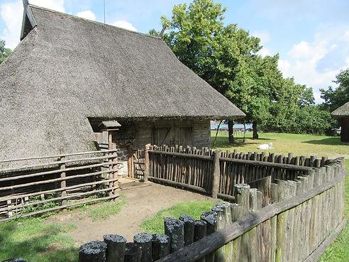 Старинная литовская изба