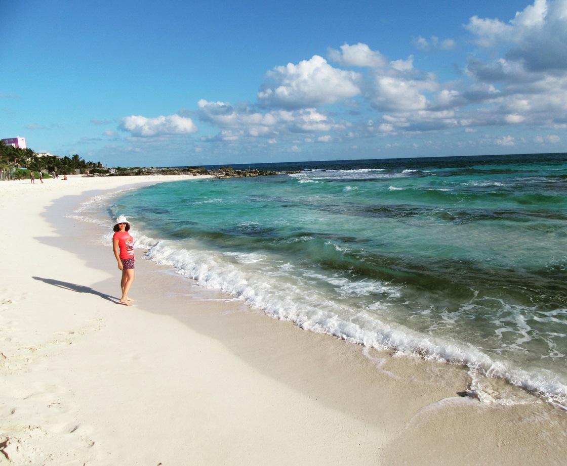 Многоцветные карибские воды