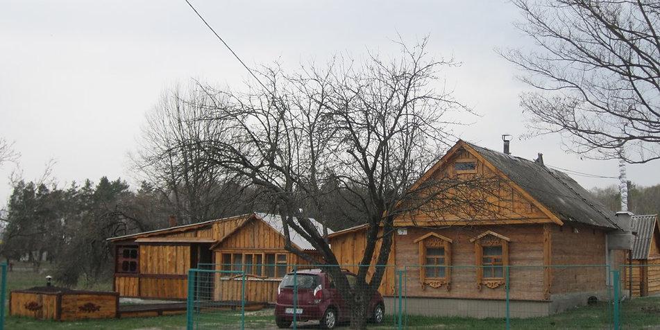 Домики усадьбы Полесье, Украина