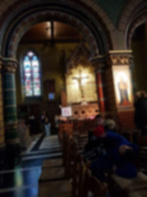 Храм, где хранят реликвию в Брюгге