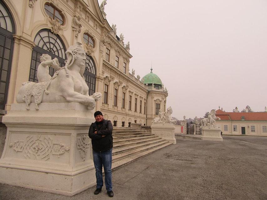 Дворец Белведер в Вене