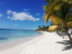 Центральный пляж острова Саона