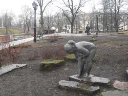 Просто статуя в центральном парке
