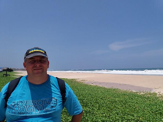 Пляж в Коггала