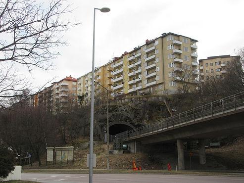 Тоннели проходящие под Стокгольмом