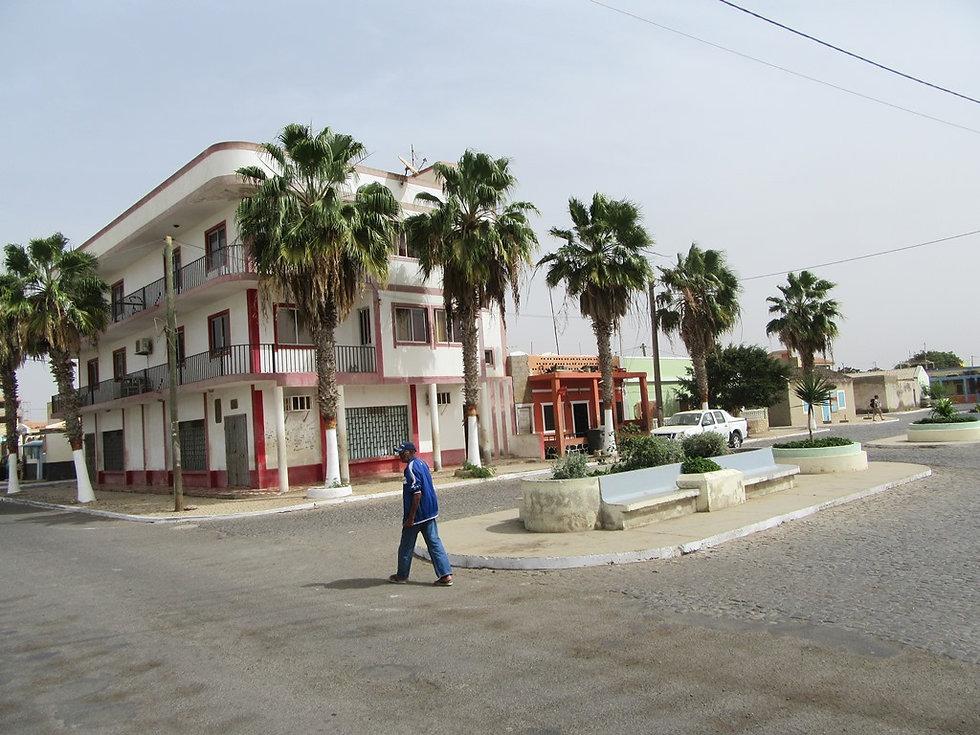 Одна из улиц Палмейры, остров Сал, Кабо-Верде