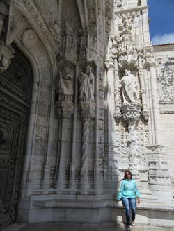 Ворота монастыря Жеронимуш