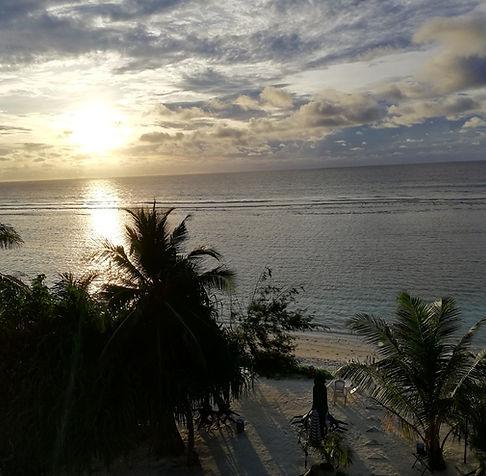 Рассвет в Хулхумале, Мальдивы