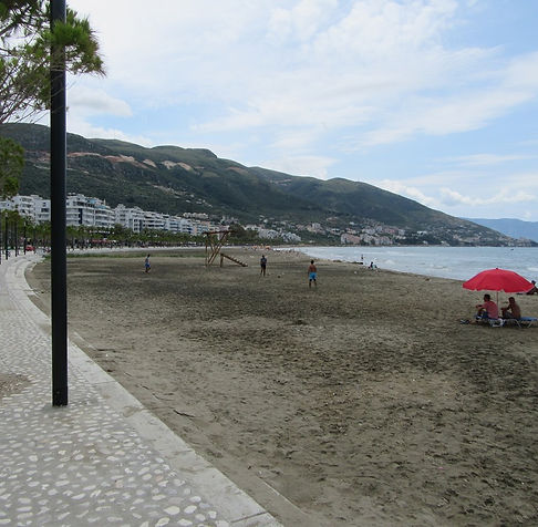 Влера, песчаный пляж