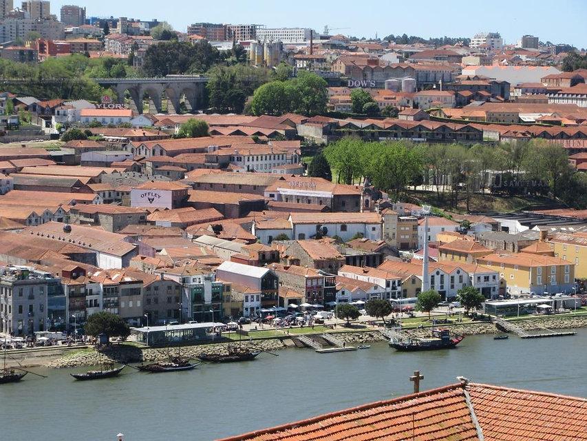 Вид на реку в Порту